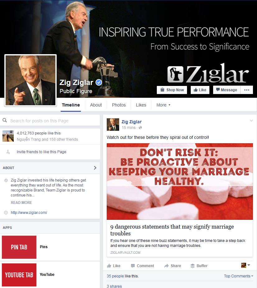 Fanpage của ZigZig Lar